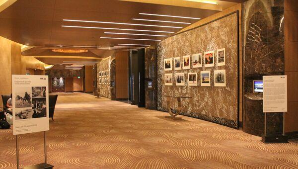 Фотовыставка РИА Новости в Баку