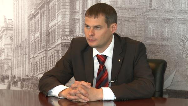 Директор департамента градостроительства Приморья Олег Ежов. Архивное фото