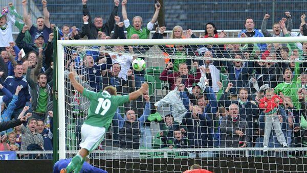 Гол в ворота сборной России, забитый сборной Северной Ирландии