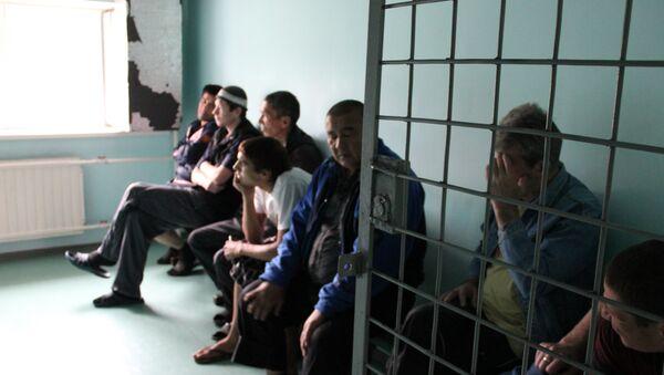 Центр содержания мигрантов, архивное фото