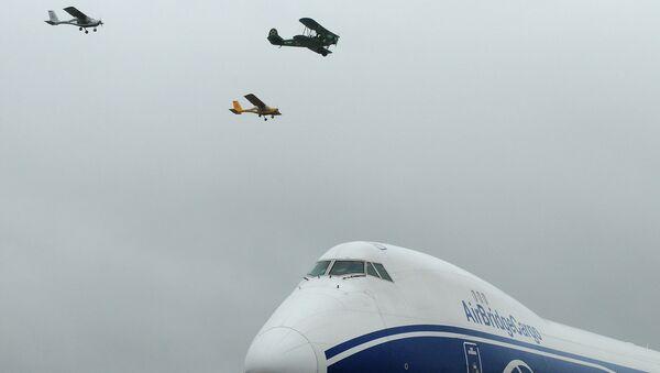 День авиации отмечают в Красноярске, архивное фото