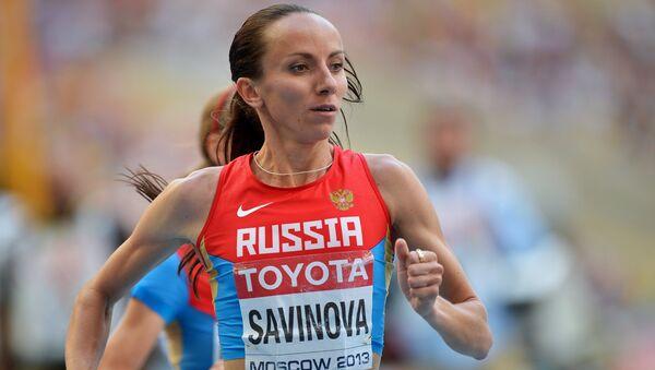 Мария Савинова. Архивное фото