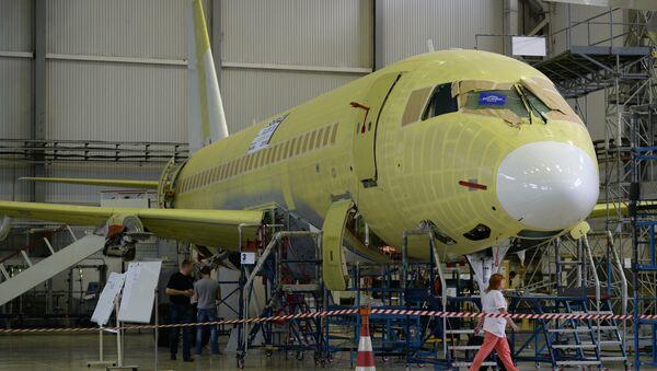 Сборка самолетов Sukhoi Superjet. Архивное фото