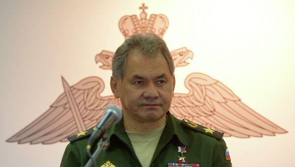 Министр обороны Российской Федерации Сергей Шойгу, архивное фото