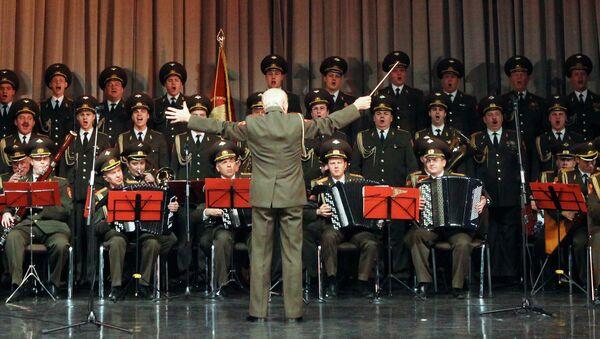 Ансамбль песни и пляски Российской Армии имени А.В. Александрова. Архивное фото