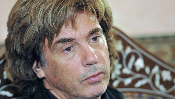 Французский композитор Жан-Мишель Жарр