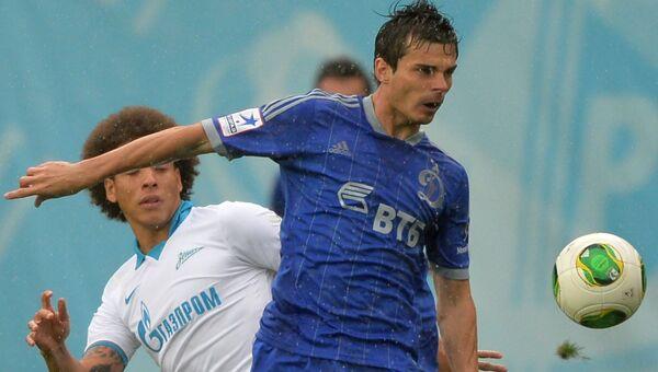 Футболист Артур Юсупов (справа). Архивное фото