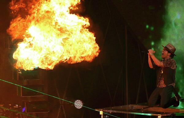 Певец Бруно Марс на MTV Video Music Awards
