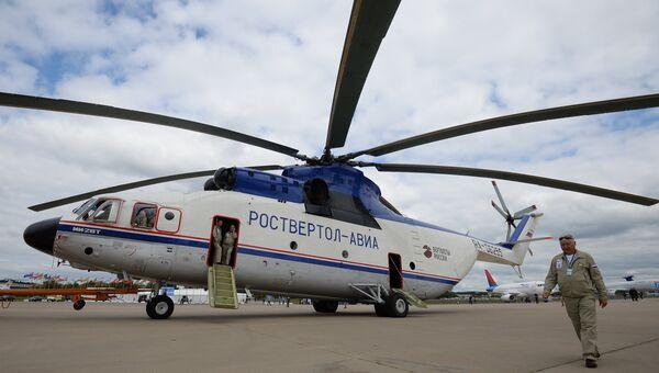 Транспортный вертолет Ми-26Т. Архивное фото