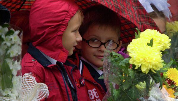 День знаний в Томске
