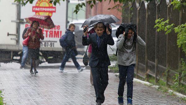 Дождливая погода. Архивное фото