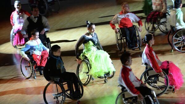 Танцы на колясках. Архивное фото