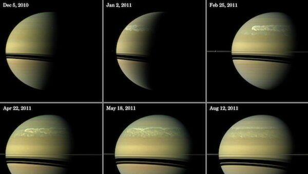 Супершторм на Сатурне глазами зонда Кассини