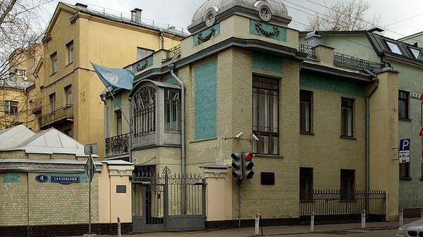 Угол Глазовского и Денежного переулков