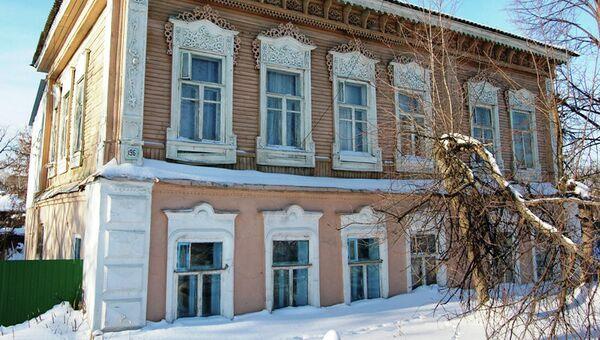 Дом Курочкина в Димитровграде, архивное фото