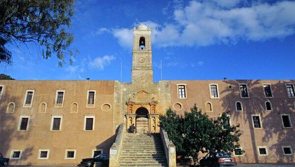 Монастырь Святой Троицы на острове Крит