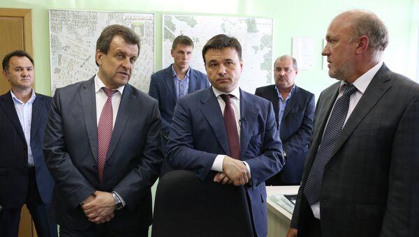 Павел Жданов (слева). Архивное фото