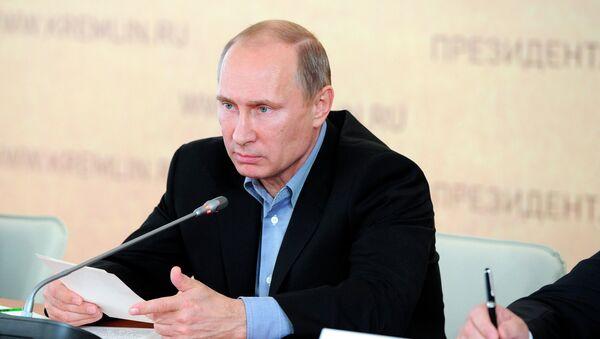 Рабочая поездка В.Путина в Южный федеральный округ, архивное фото