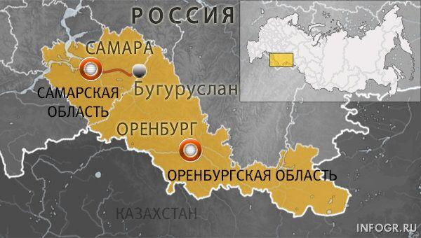 Трасса Самара-Бугуруслан