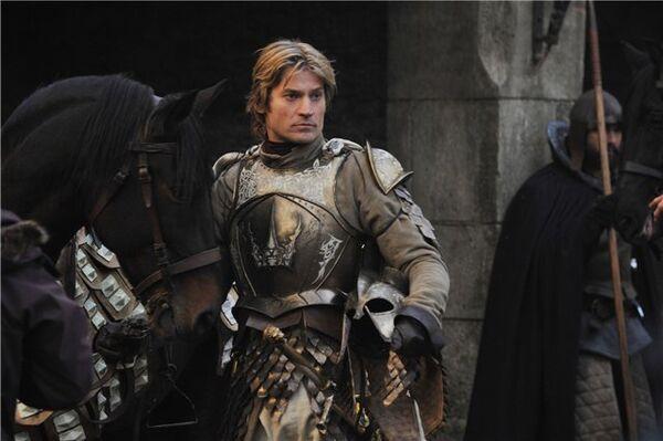 Кадр из сериала Игра престолов. Джейме Ланнистер