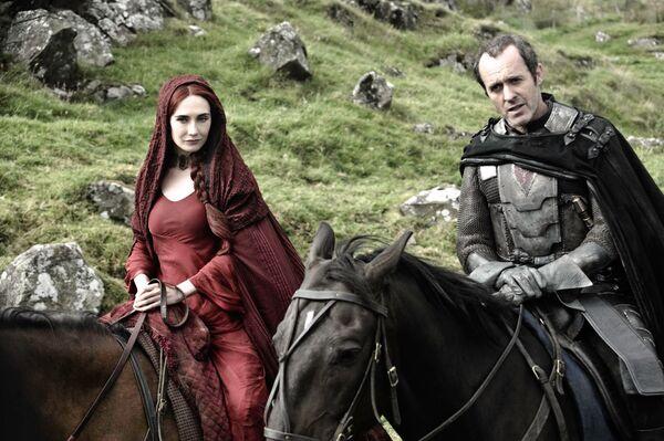 Сериал Игра престолов. Мелисандра и Станнис Баратеон