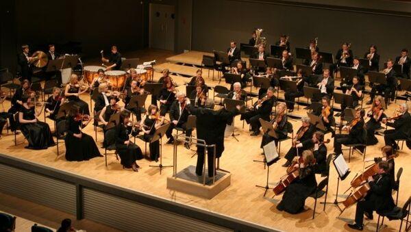 Санкт-Петербургский государственный академический симфонический оркестр. Архивное фото