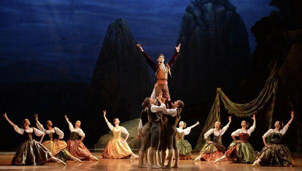 Генеральная репетиция балета Пахита в постановке хореографа Пьера Лакотта в Государственном Академическом Большом Театре в Москве, событийное фото