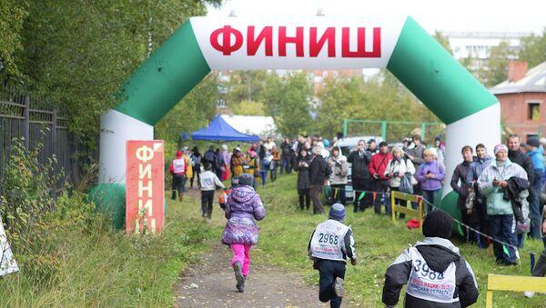 Всероссийский день бега Кросс наций - 2013 в Томске, событийное фото