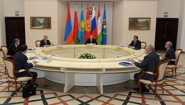 Заседание совета коллективной безопасности ОДКБ
