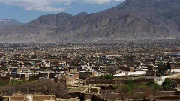 Вид на город Кветта, Пакистан
