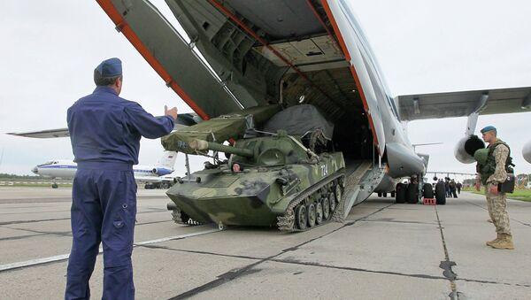 Российско-белорусские стратегические учения Запад. Архивное фото