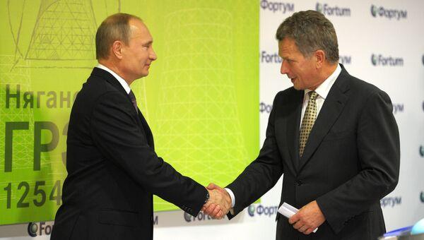 Рабочая поездка В.Путина в Ханты-Мансийский автономный округ