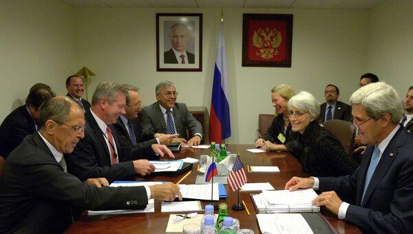 Рабочие встречи С.Лаврова в штаб-квартире ООН в Нью-Йорке