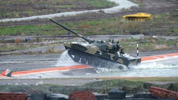 Самоходная артиллерийская установка с противотанковой пушкой Спрут-СД