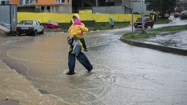 Последствия ливней в Сочи. Фото с места события