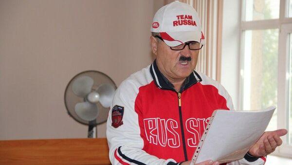 Юрий Бабин на заседании суда в Новосибирске