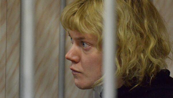 Финская активистка Greenpeace Сини Саарела, архивное фото