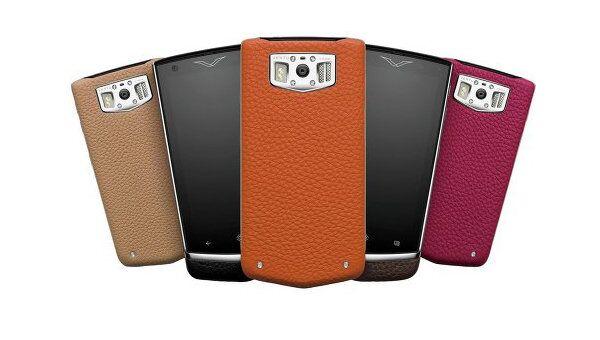 Набор смартфонов Vertu Constellation разных цветов