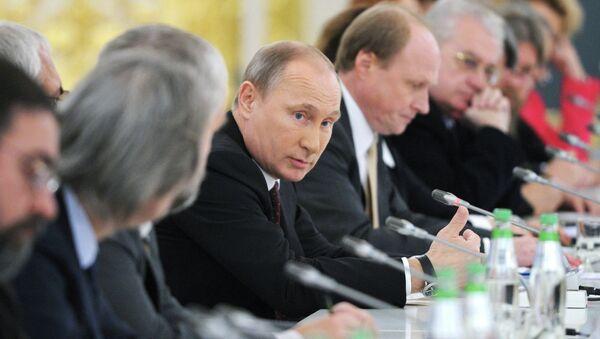 Заседание Совета при президенте РФ по культуре и искусству