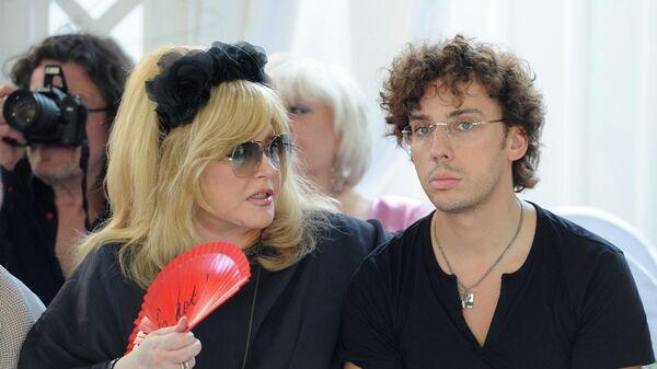 Певица Алла Пугачева и шоумен Максим Галкин. Архивное фото