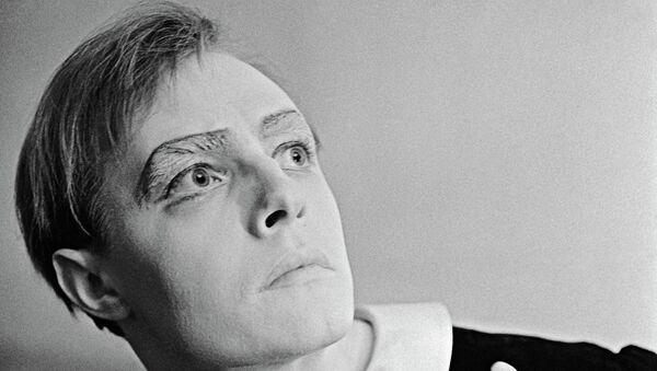 Актер Эдуард Марцевич в роли Гамлета. Архивное фото