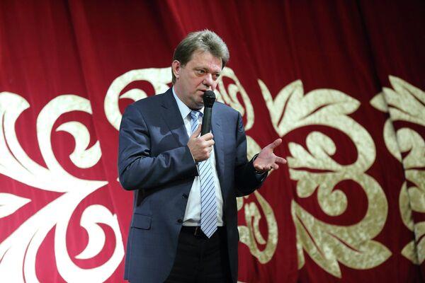 Иван Кляйн на встрече с избирателями