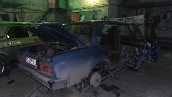 Тайник с мобильными телефонами, обнаруженный в Кузбассе