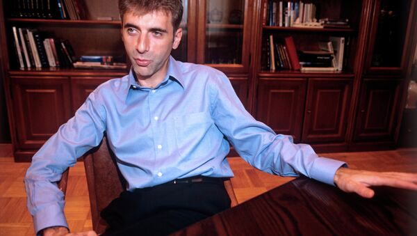 Леонид Невзлин. Архивное фото
