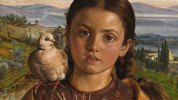 Уильям Холман Хант.  Тосканская девочка. 1869