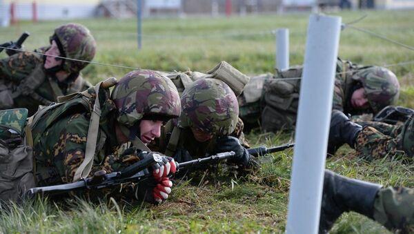 Cоревнования взводов спецназа на первенство Сибирского регионального командования внутренних войск МВД России