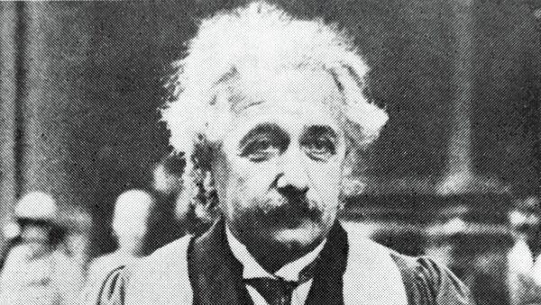 Альберт Эйнштейн, архивное фото