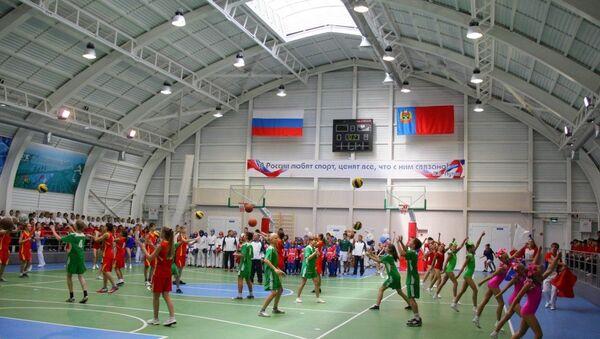 Спорткомплекс в Топкинском районе Кузбасса