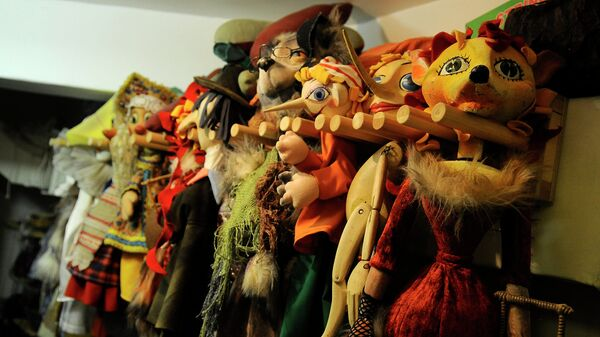 Кукольный театр. Архивное фото