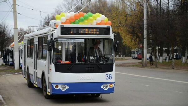 Новый троллейбус в Костроме